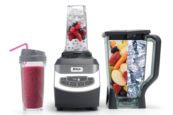 Ninja Professional Blender BL660 with 2 lip glasses Review