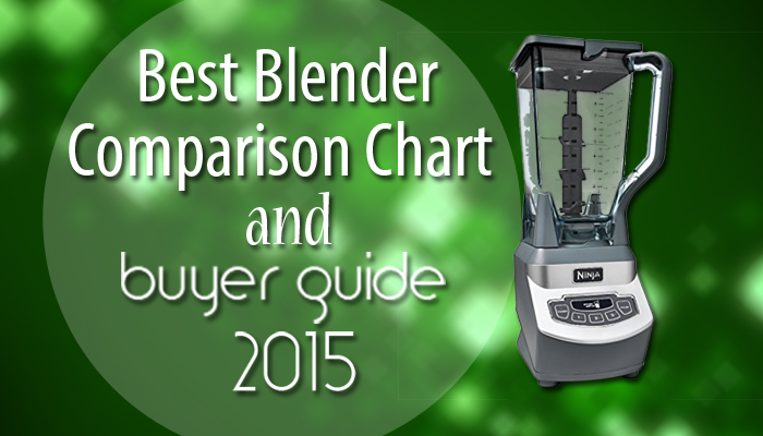 Best Blender Comparison Buying Guide